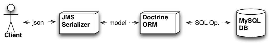 Serializer / ORM flow diagram